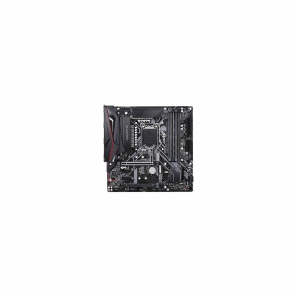 GIGABYTE MB Sc LGA1151 Z390 M GAMING 1.0 M/B, Intel Z390, 4xDDR4, VGA