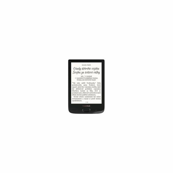 POCKETBOOK 616 Basic Lux 2, Obsidian Black