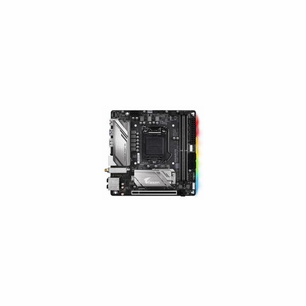 GIGABYTE MB Sc LGA1151 Z390 I AORUS PRO WIFI, Intel Z390, 2xDDR4, VGA, WIFI