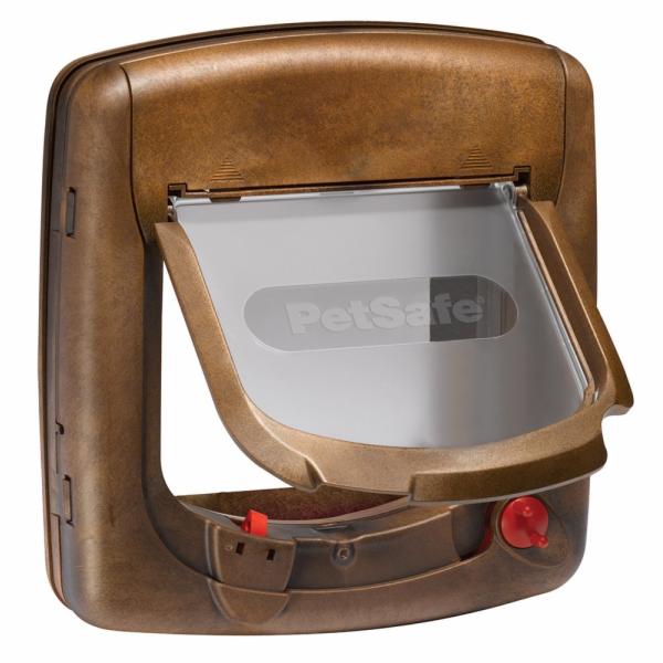 PetSafe Magnetická dvířka Staywell 420, dřevo