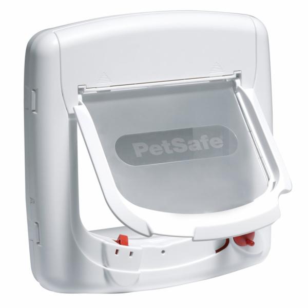 PetSafe Magnetická dvířka Staywell 400, bílá