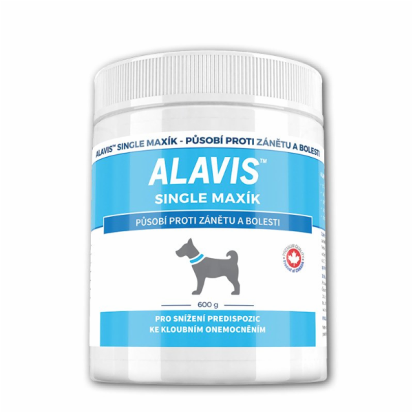 ALAVIS Single Maxík 600g