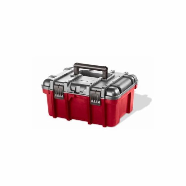 """Keter box na nářadí červený 41,9x32,7x20,5cm 16"""""""