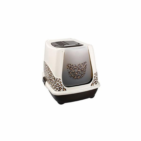 Karlie-Flamingo Toaleta pro kočky Trendy Safari 50x42x39,5cm