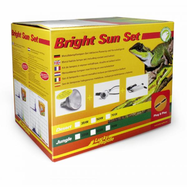 Lucky Reptile Bright Sun UV - kompletní sady EVO Jungle 35W