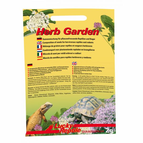 Lucky Reptile Herb Garden Směs semen 2g