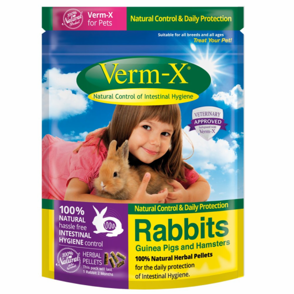 Verm-X Přírodní nugetky proti střevním parazitům pro hlodavce 180g