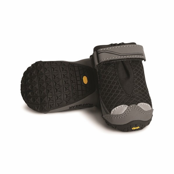 Ruffwear outdoorová obuv pro psy, Grip Trex Dog Boots, černá, velikost XS