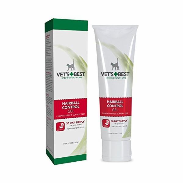 VET´S BEST Hair Ball gel pro zlepšení trávení