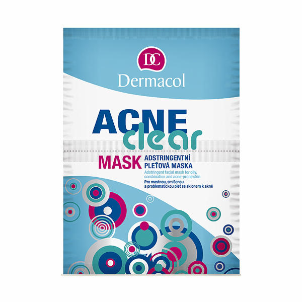 Čisticí maska Dermacol Dermaclear Mask 16g