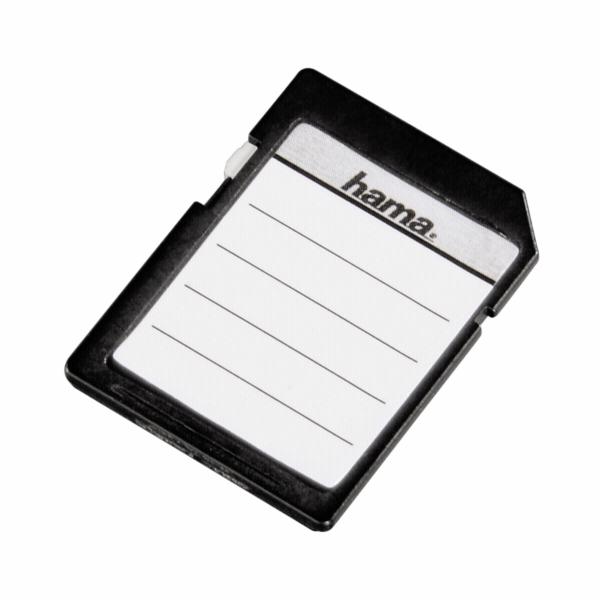 Hama Etikety na pametove karty SD/MMC 18 kusu cb 95916