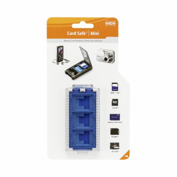 Gepe Card Safe Mini iceblue All in One 3853-02