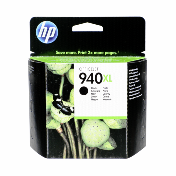 Inkoust HP Ink No 940XL černá velká, C4906AE