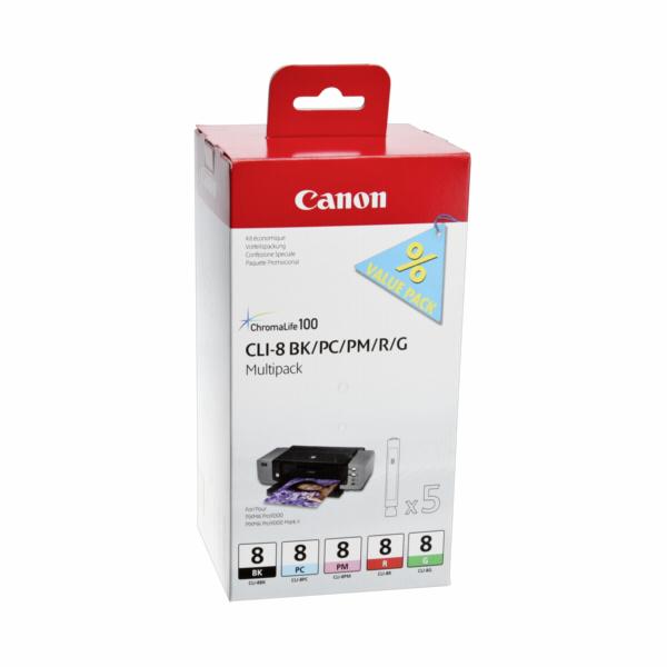 Canon CLI-8 Multipack BK/PC/PM/R/G