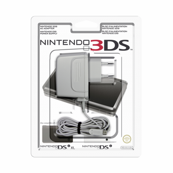 Nintendo DSi / 3DS / 3DS XL sit. zdroj Power Adapter