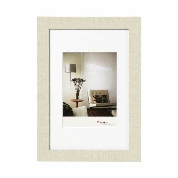 Rámeček Walther Home 30x40 dřevo, krémově bílý