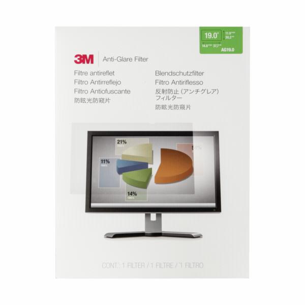 3M AG190 anti-lesk. filtr pro standart. monitory 9