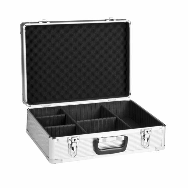 mantona hlinik foto kufr Basic M stribrna