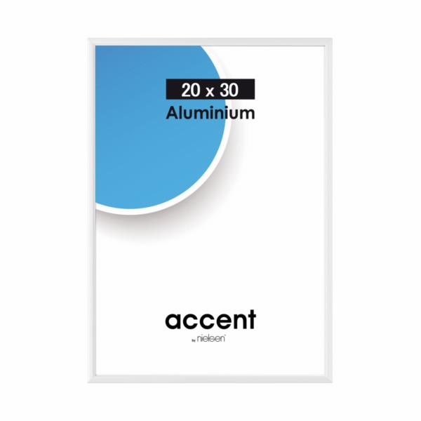 Nielsen Accent 20x30 hlinik stribrna 53523