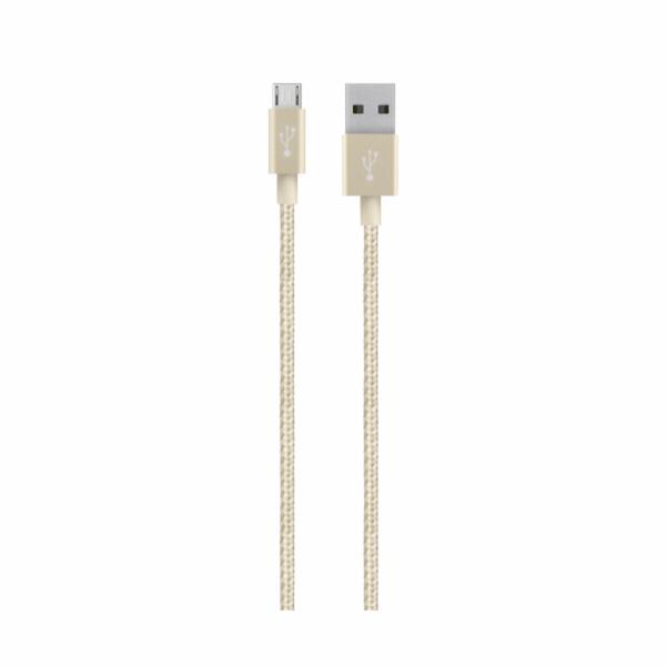 Belkin Premium MIXIT USB Kabel 1,2 m zlata F2CU021bt04-GLD
