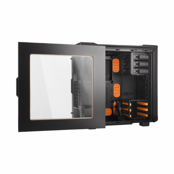 be quiet! SILENT BASE 600 Orange PC skrin s okenkem