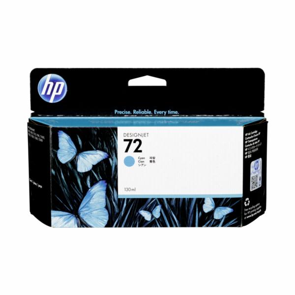 Inkoust HP Ink No 72 azurová C9371A 130ml