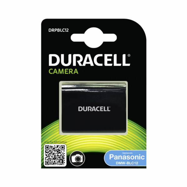 Duracell Li-Ion Akku 950 mAh for Panasonic DMW-BLC12