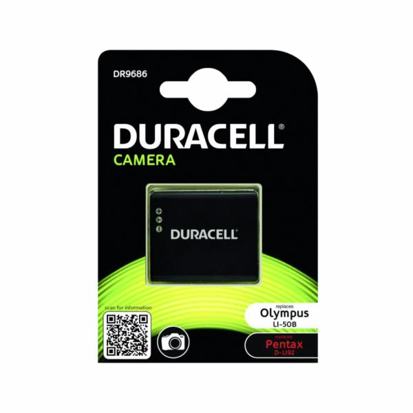 Duracell Li-Ion aku 770 mah pro Olympus LI-50B/Pentax D-LI92