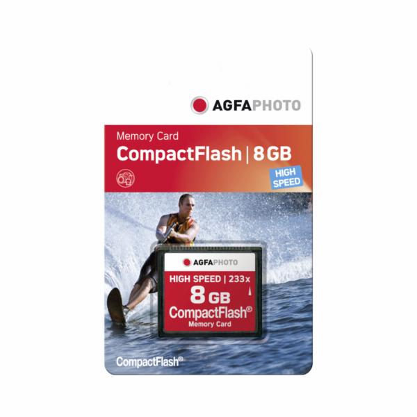 AgfaPhoto kompakt. Flash 8GB High Speed 233x MLC