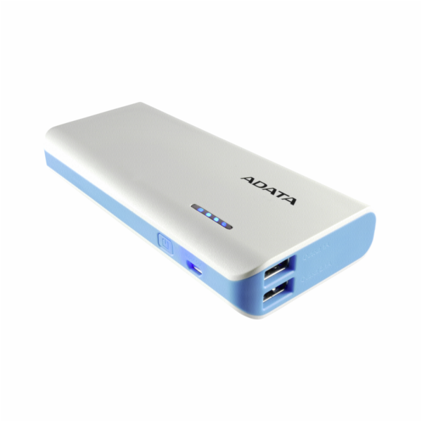 ADATA Powerbank PT100 White/Blue 10000 mAh s Flashl