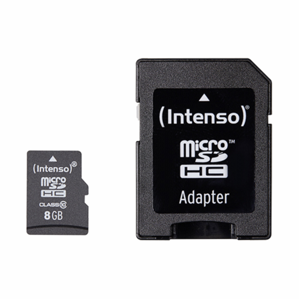 Intenso microSDHC 8GB Class 10