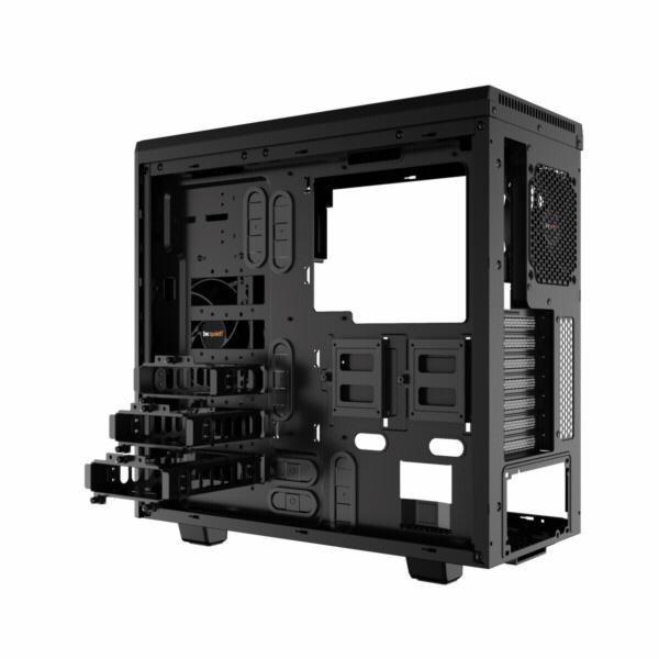 be quiet! PURE BASE 600 cerna PC skrin s okenkem