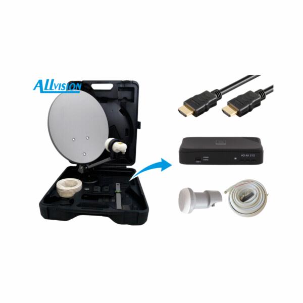 Allvision HD-Mobil kempingovy kufr komplet