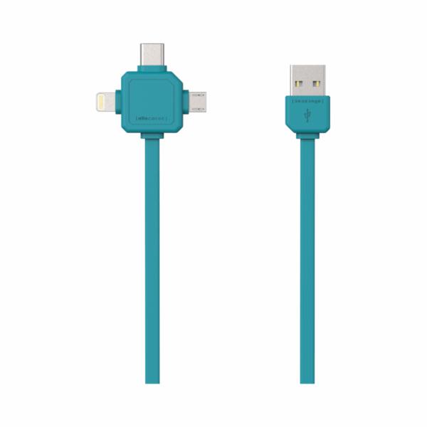allocacoc USB Cable blue