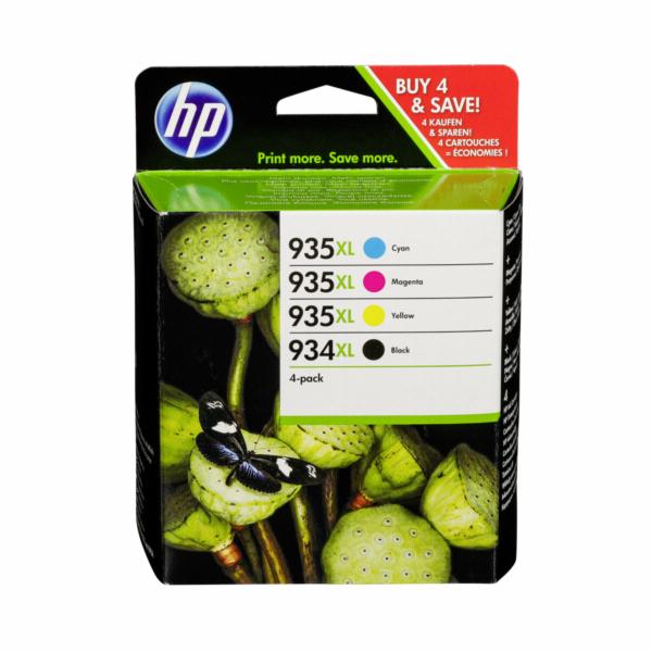 HP X4E14AE Multipack BK/C/M/Y No. 934 XL and 935 XL