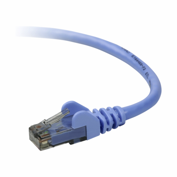 Belkin CAT 6 sitovy kabel 3,0 m UTP modra Snagless
