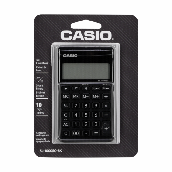 Casio SL-1000SC-BK cerna