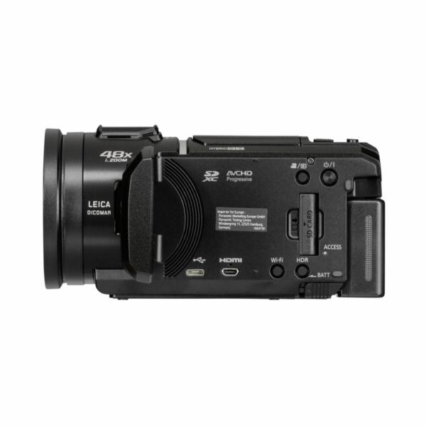 Panasonic HC-V808EG-K cerna