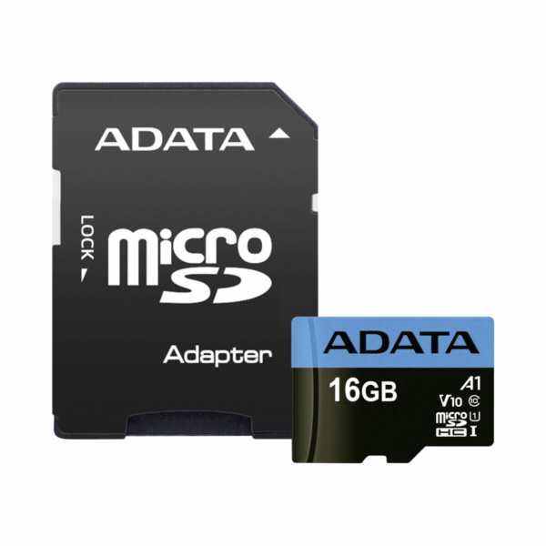 ADATA microSDHC UHS-I Class 10 16GB Premier s Adapter A1