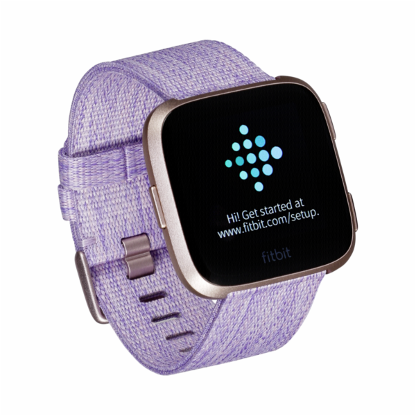 Fitbit Versa Special Edition lavender/rosegold