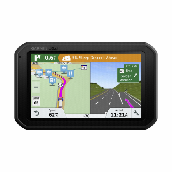 Garmin GPS navigace dezl 780T-D Lifetime Europe45