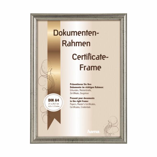 Hama Oregon silver 21x29,7 Wooden Frame DIN A4 64869