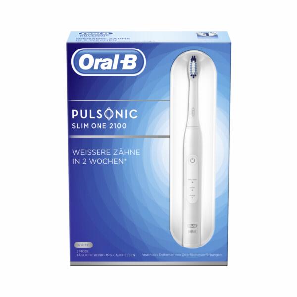 Braun Oral-B Pulsonic SLIM ONE 2100 white