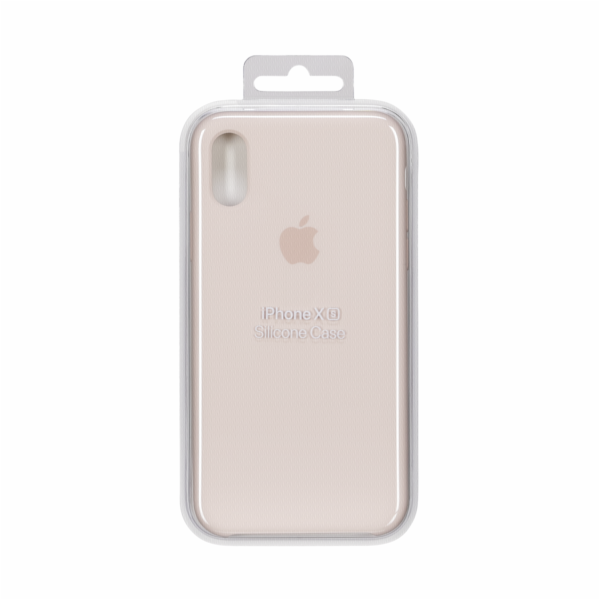 Apple iPhone XS Silicone Case Pink Sand