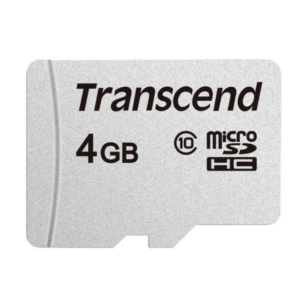 Transcend 4GB microSDHC 300S (Class 10) paměťová karta