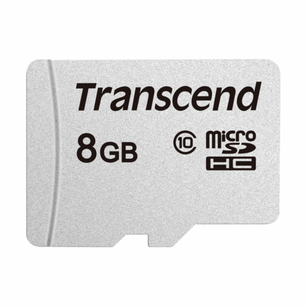 TRANSCEND Micro SDHC Class 10 300S 8GB, bez adaptéru