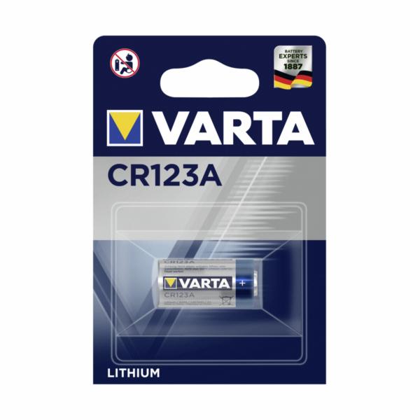 1 Varta Professional CR 123 A