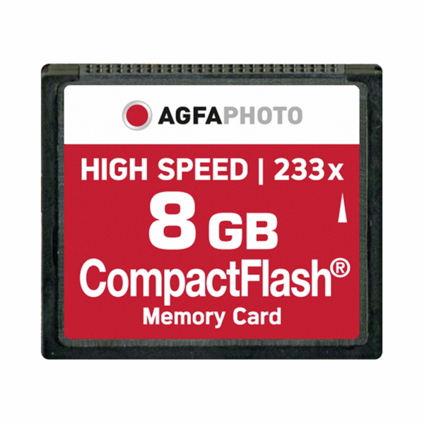 AgfaPhoto kompakt. Flash 8GB High Speed 233x MLC