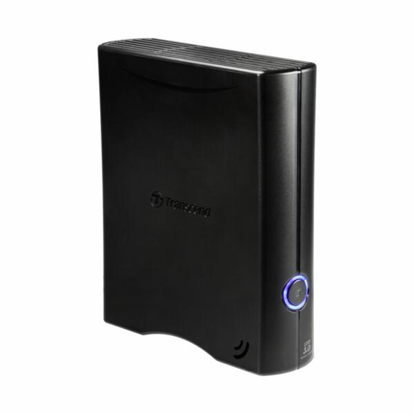 """TRANSCEND externí HDD 3,5"""" USB 3.0 StoreJet 35T3, 4TB, Black, Turbo"""