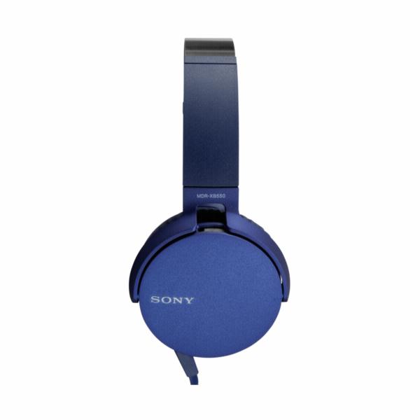 Sony MDR-XB550APL modra